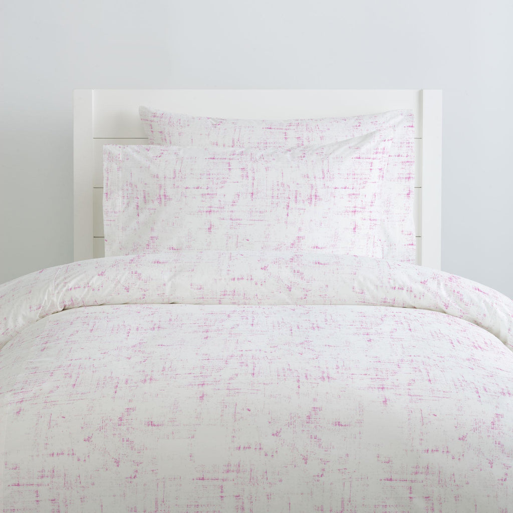 Product image for Hot Pink Distressed Duvet Cover