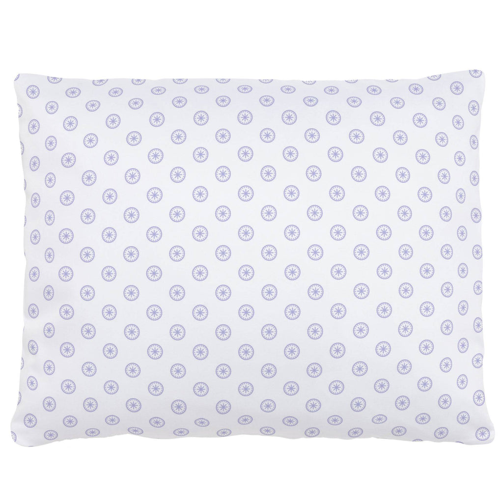 Product image for Lilac Tiny Medallion Accent Pillow