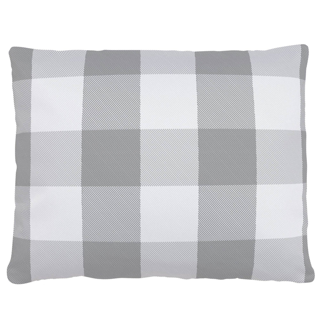 Product image for Gray Buffalo Check Accent Pillow