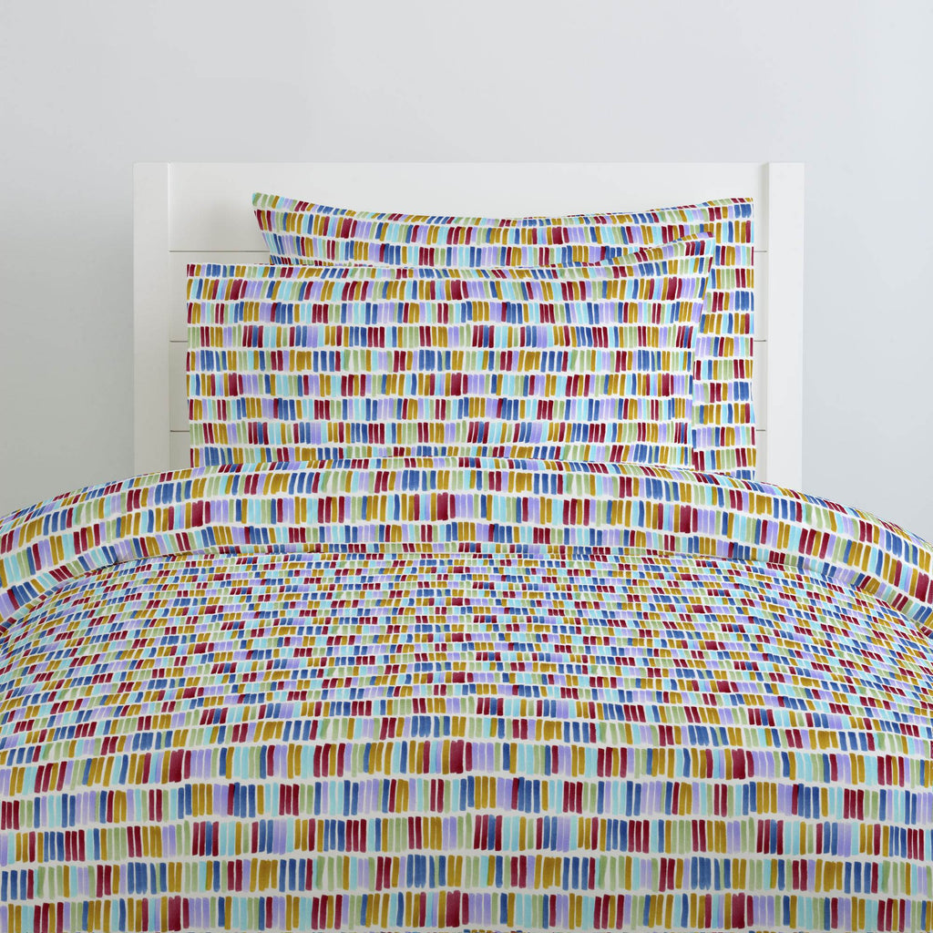 Product image for Colorful Bars Duvet Cover