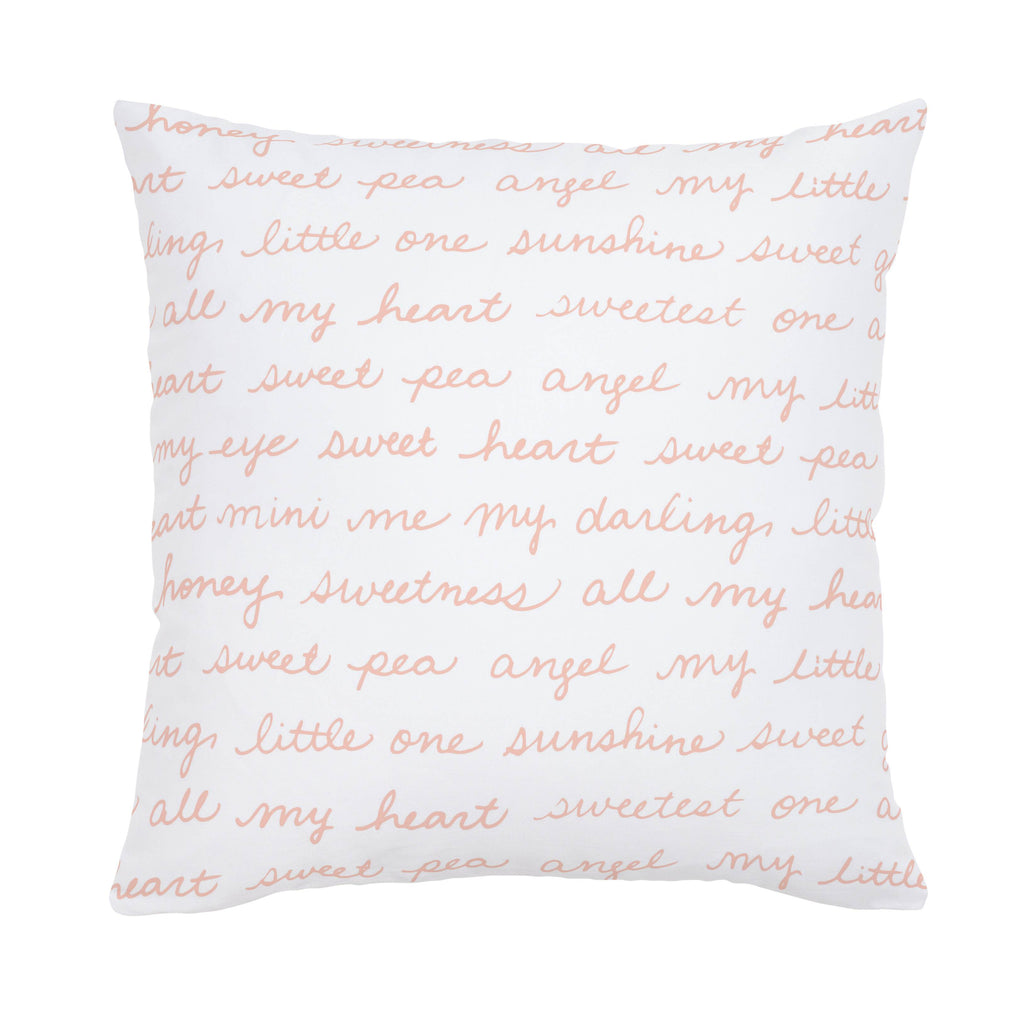 Product image for Peach Sweet Girl Throw Pillow