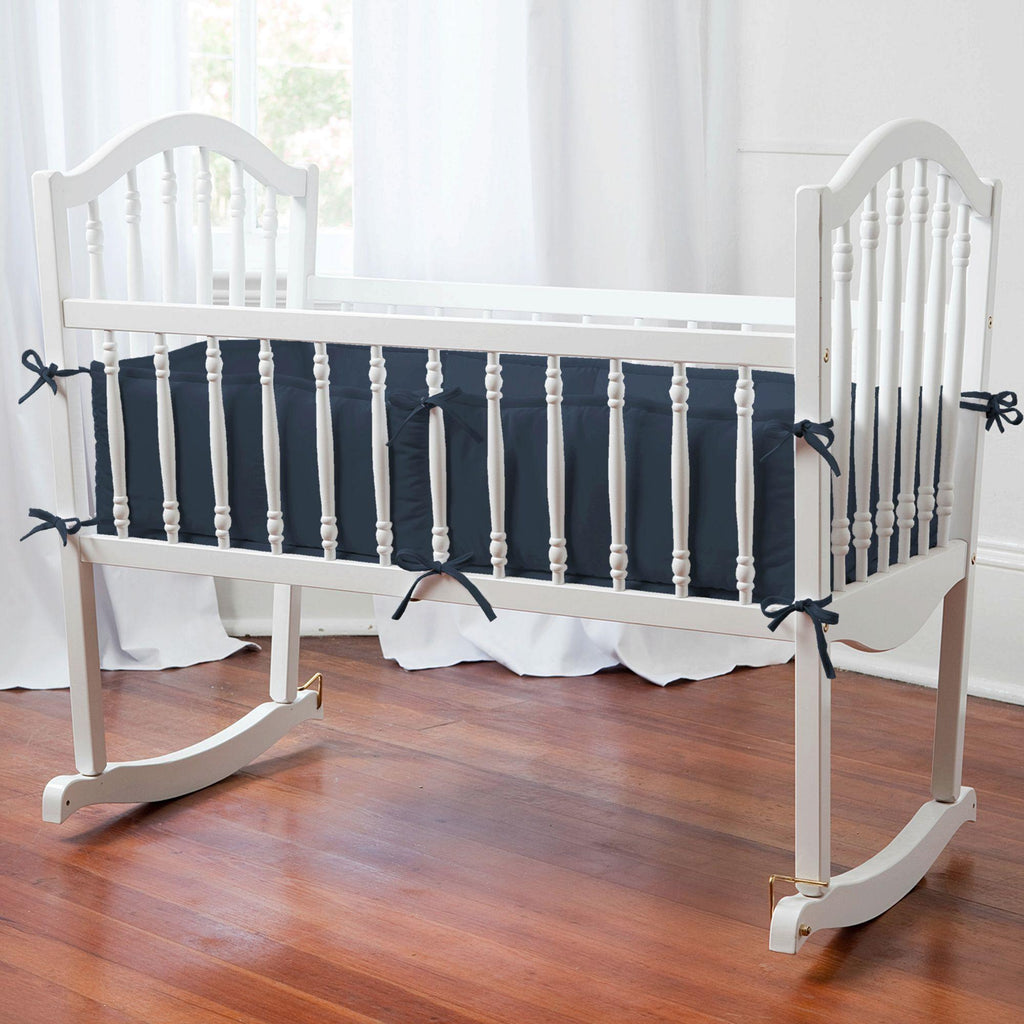 Product image for Solid Navy Cradle Bumper
