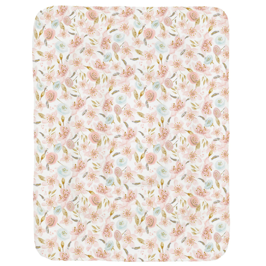 Product image for Pink Hawaiian Floral Crib Comforter