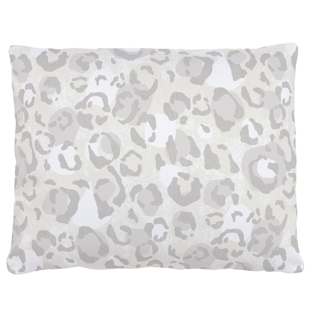 Product image for French Gray Leopard Accent Pillow
