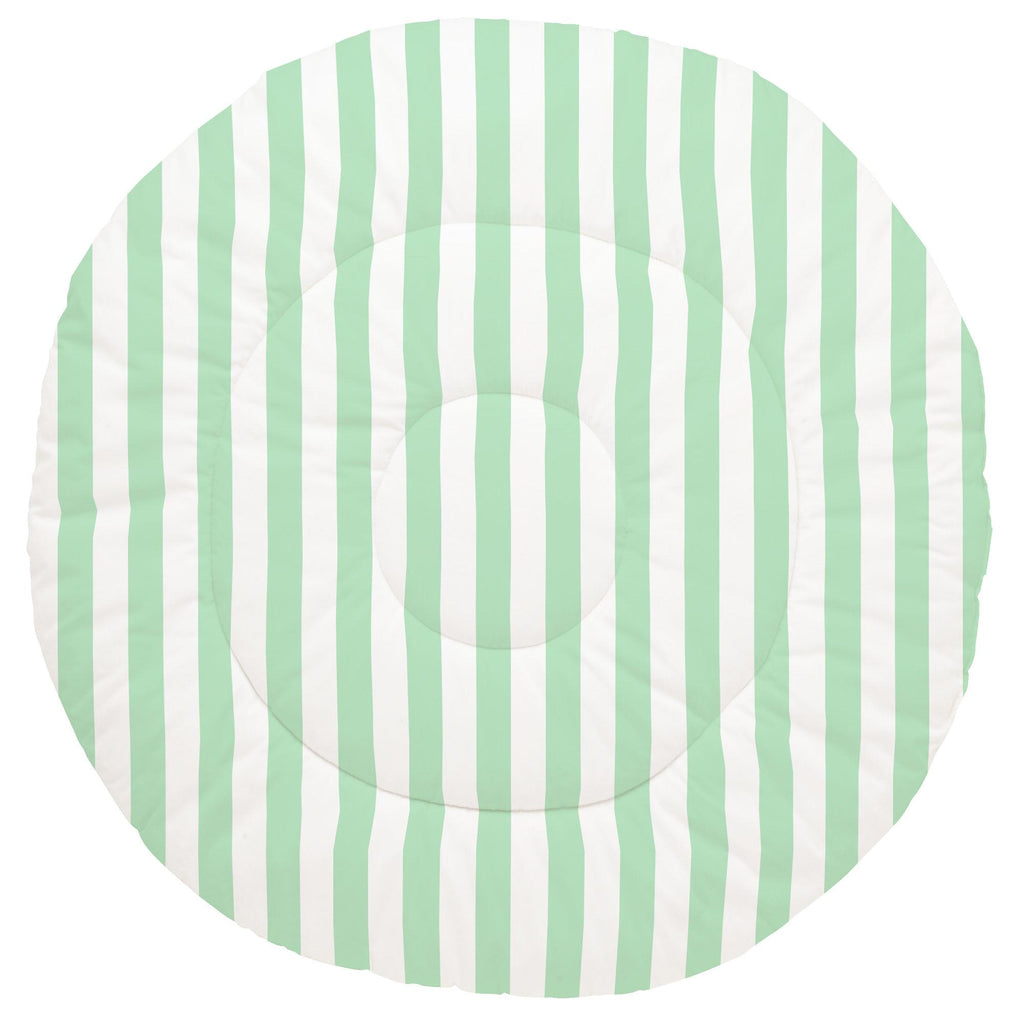Product image for Mint Stripe Baby Play Mat