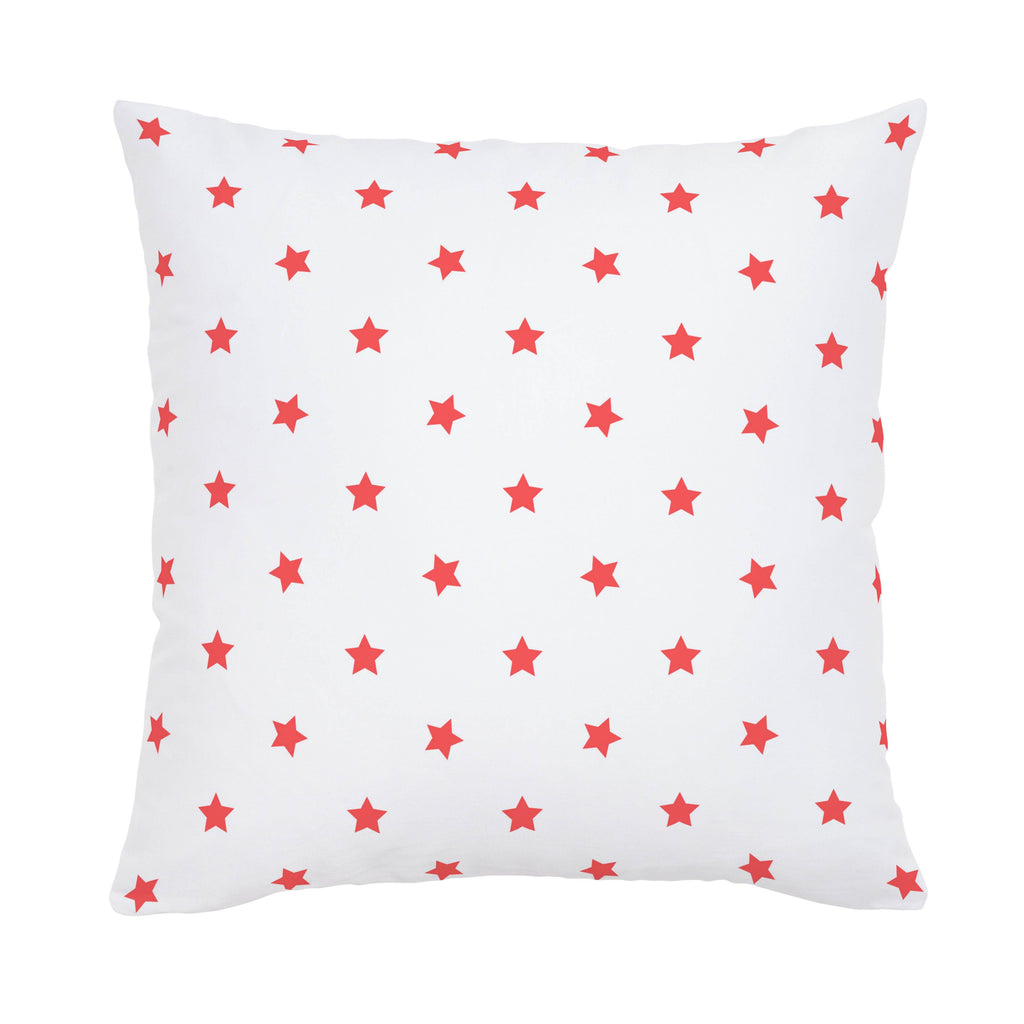 Product image for Coral Stars Throw Pillow