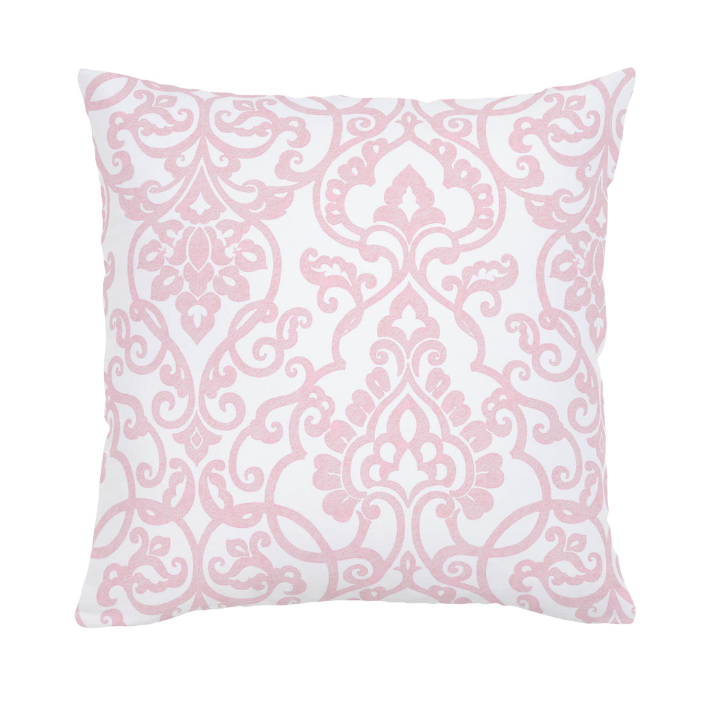 Product image for Pink Filigree Throw Pillow