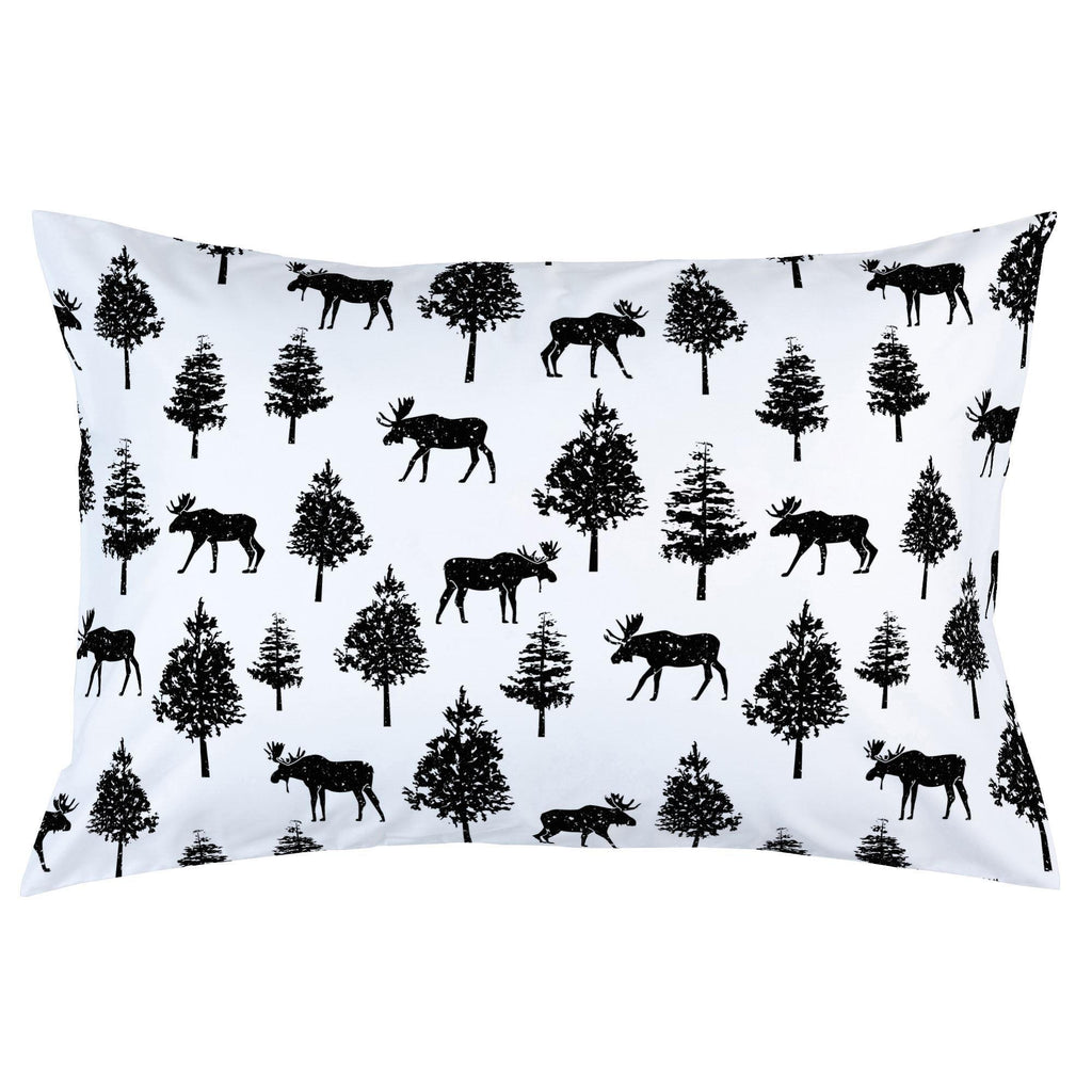 Product image for Onyx Moose Pillow Case