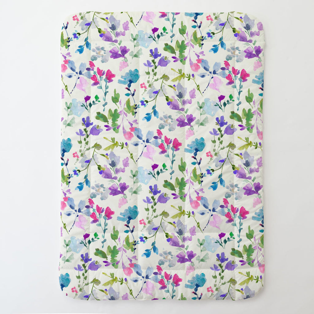 Product image for Bright Wildflower Toddler Comforter