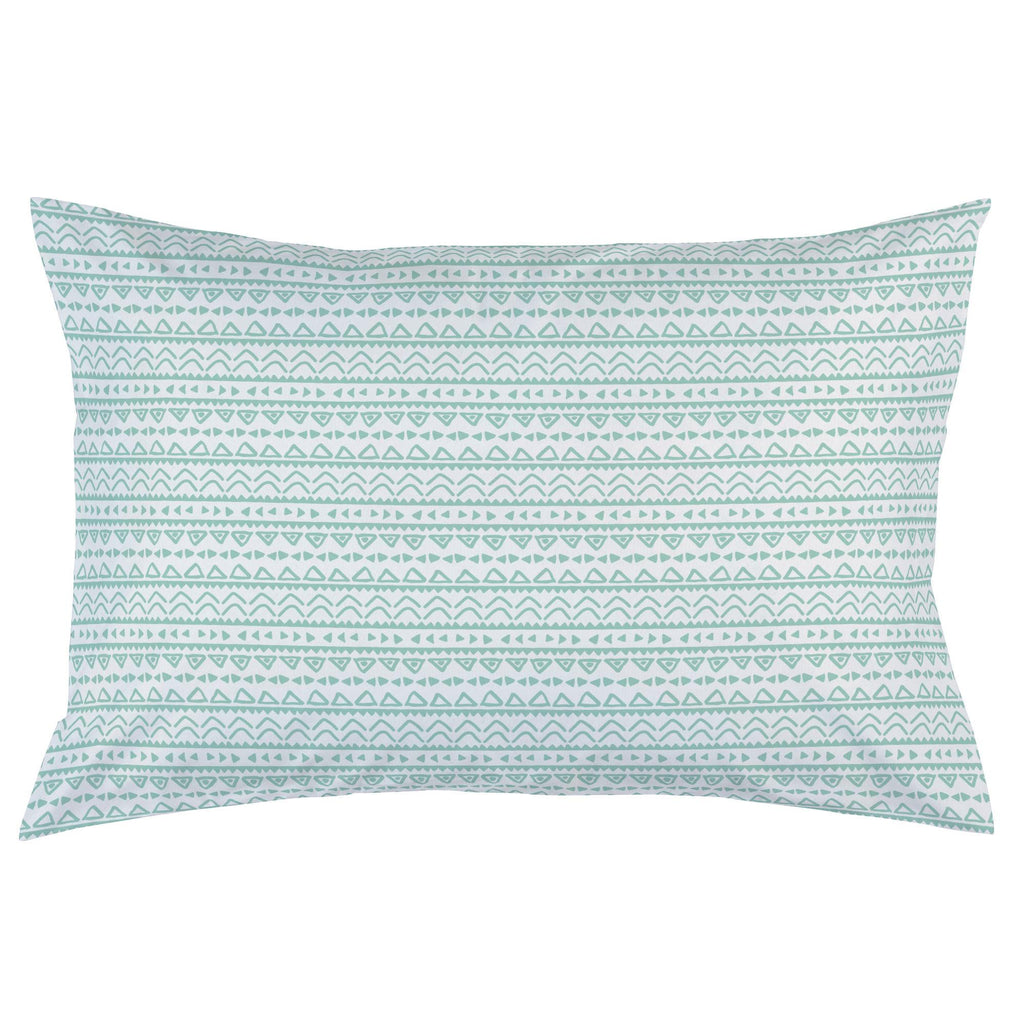 Product image for Mint Baby Aztec Pillow Case