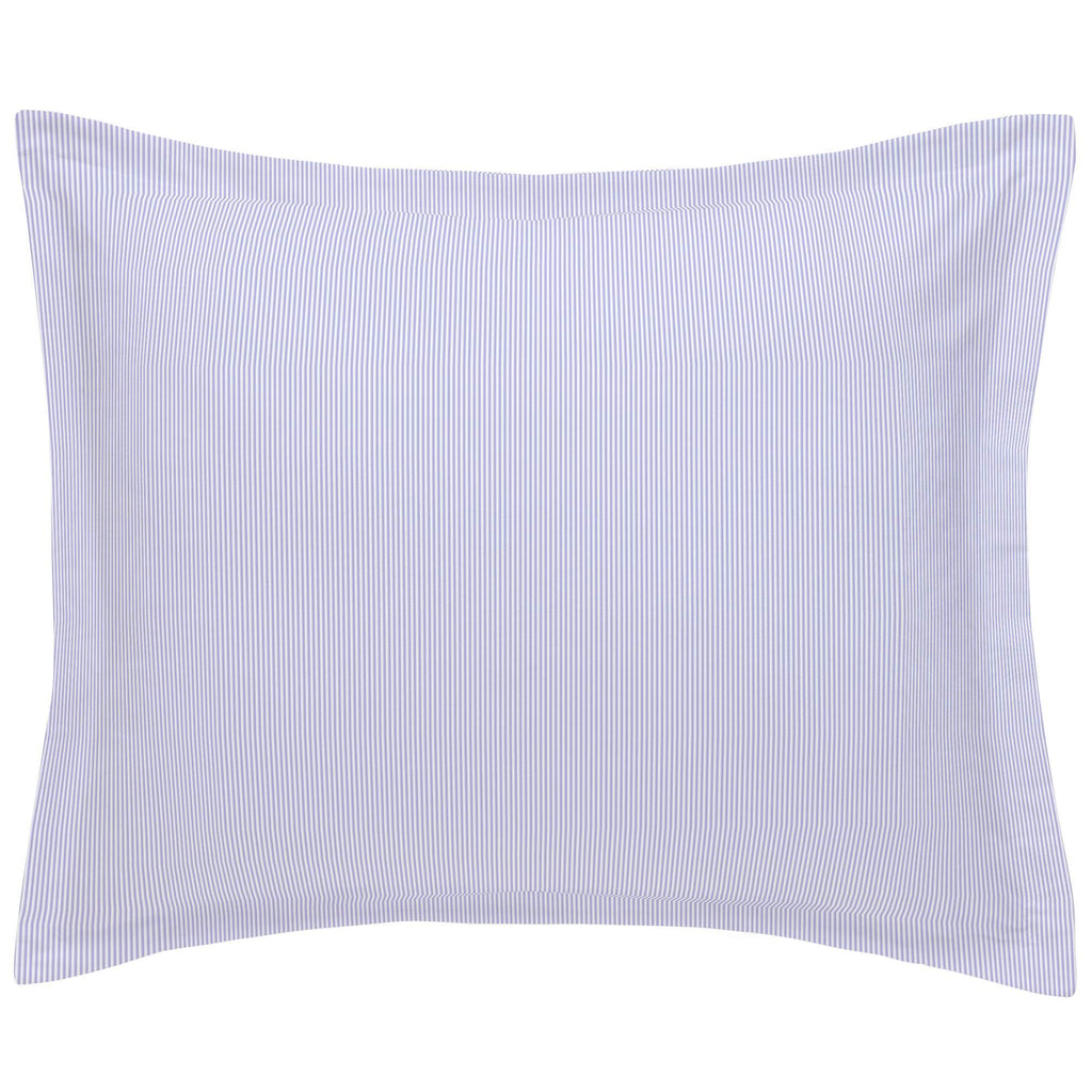 Product image for Lilac Mini Stripe Pillow Sham