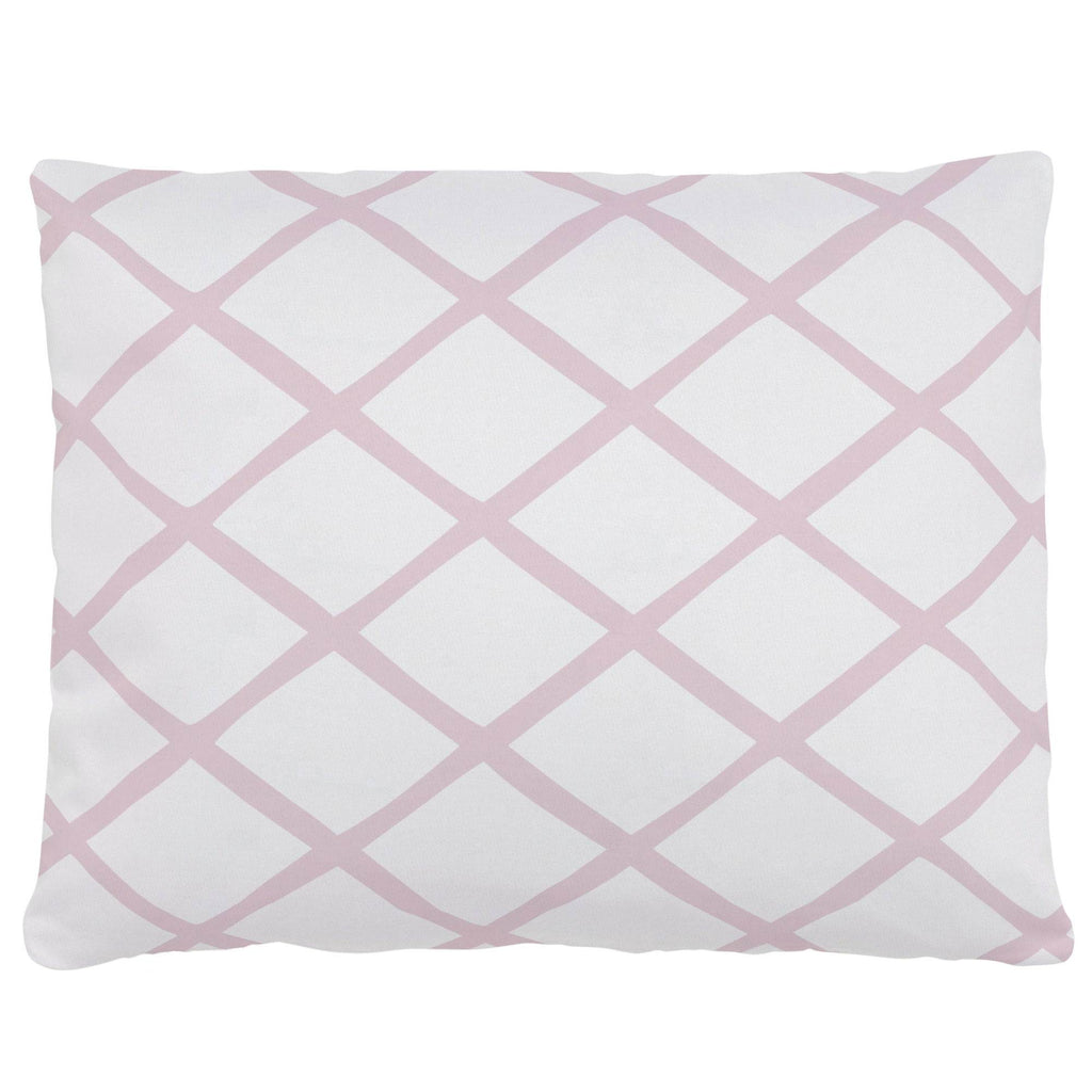 Product image for Pink Trellis Accent Pillow