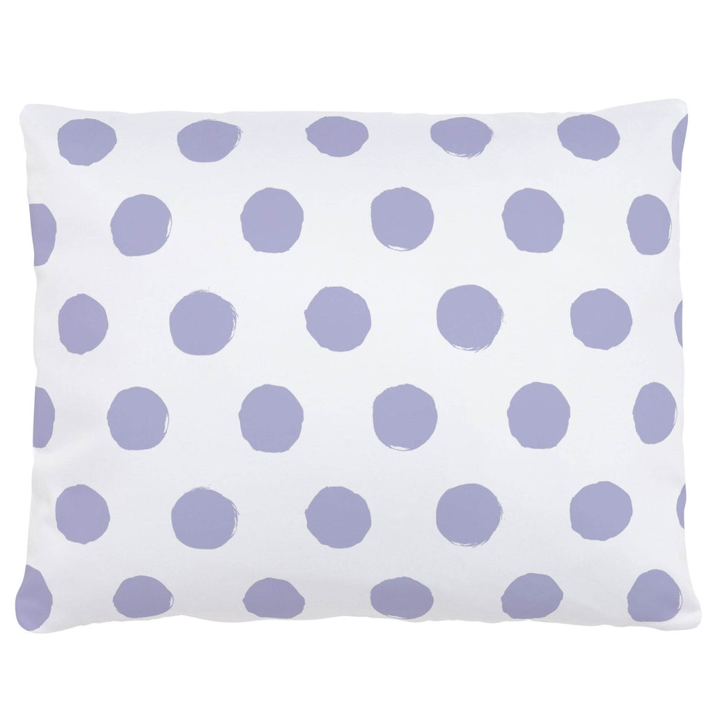 Product image for Lavender Brush Dots Accent Pillow