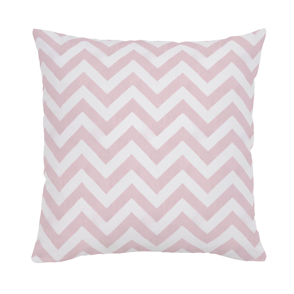 Product image for Pink Zig Zag Throw Pillow