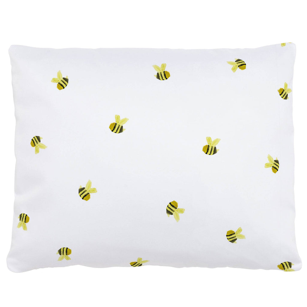 Product image for Watercolor Bees Accent Pillow
