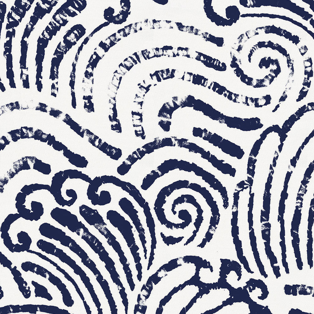 Product image for Navy Seas Fabric