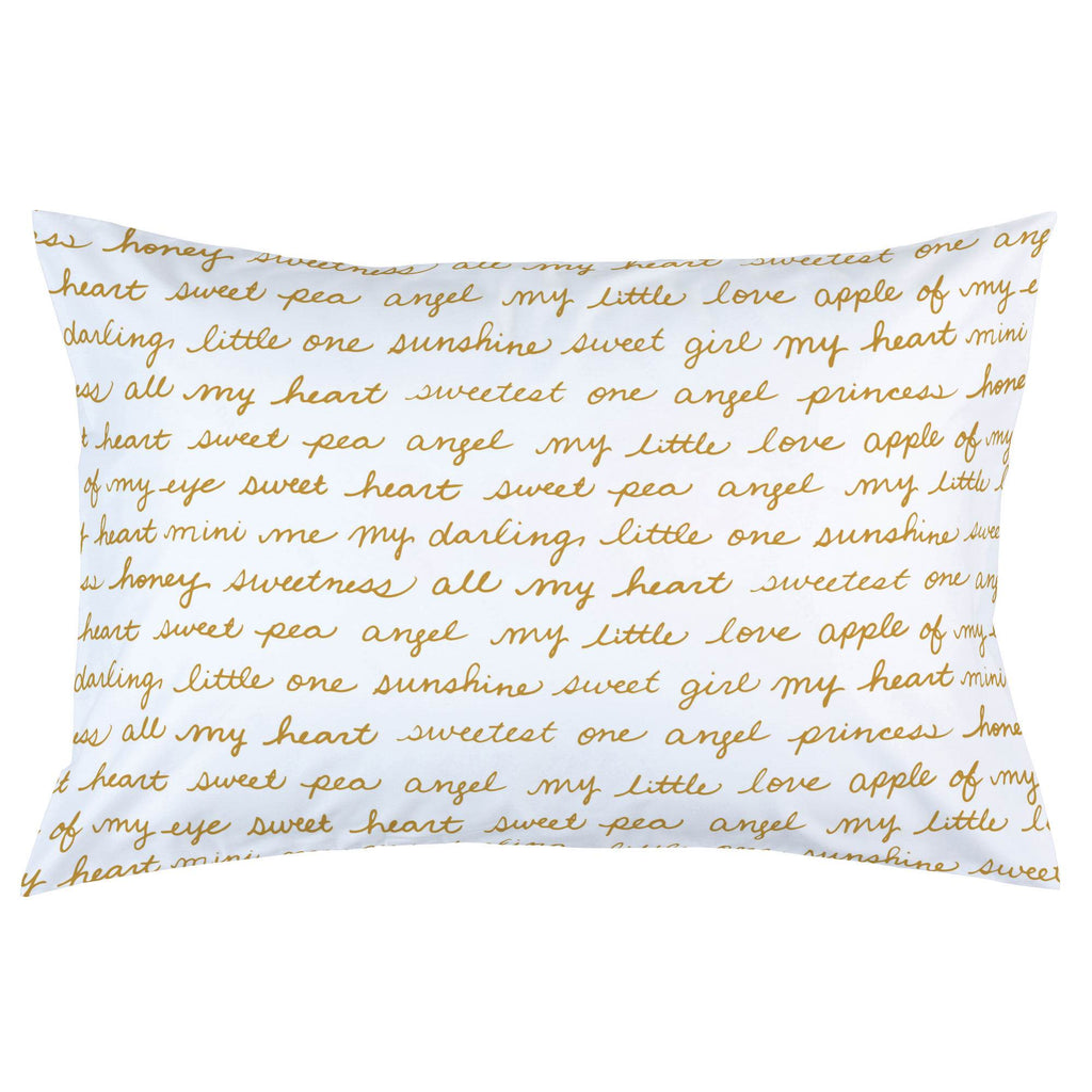 Product image for Mustard Sweet Girl Pillow Case