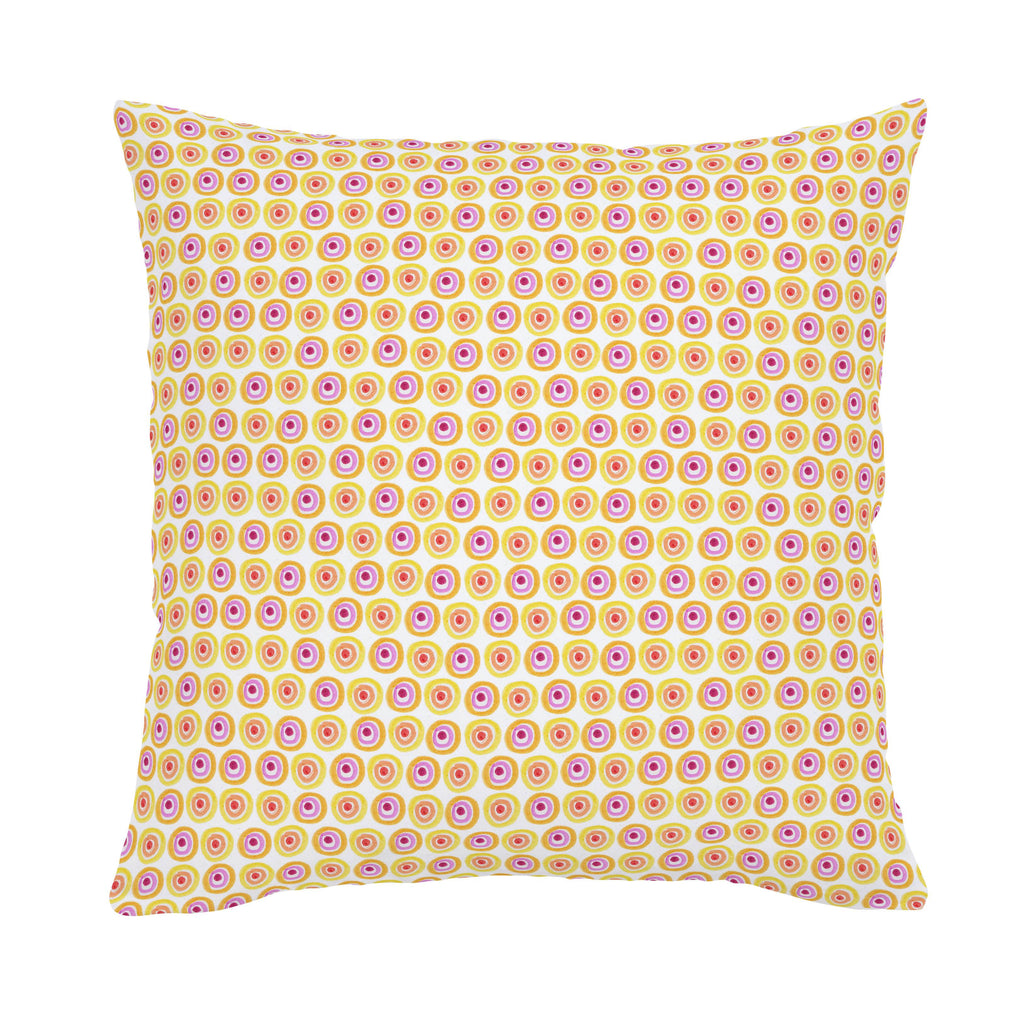 Product image for Festive Dots Throw Pillow