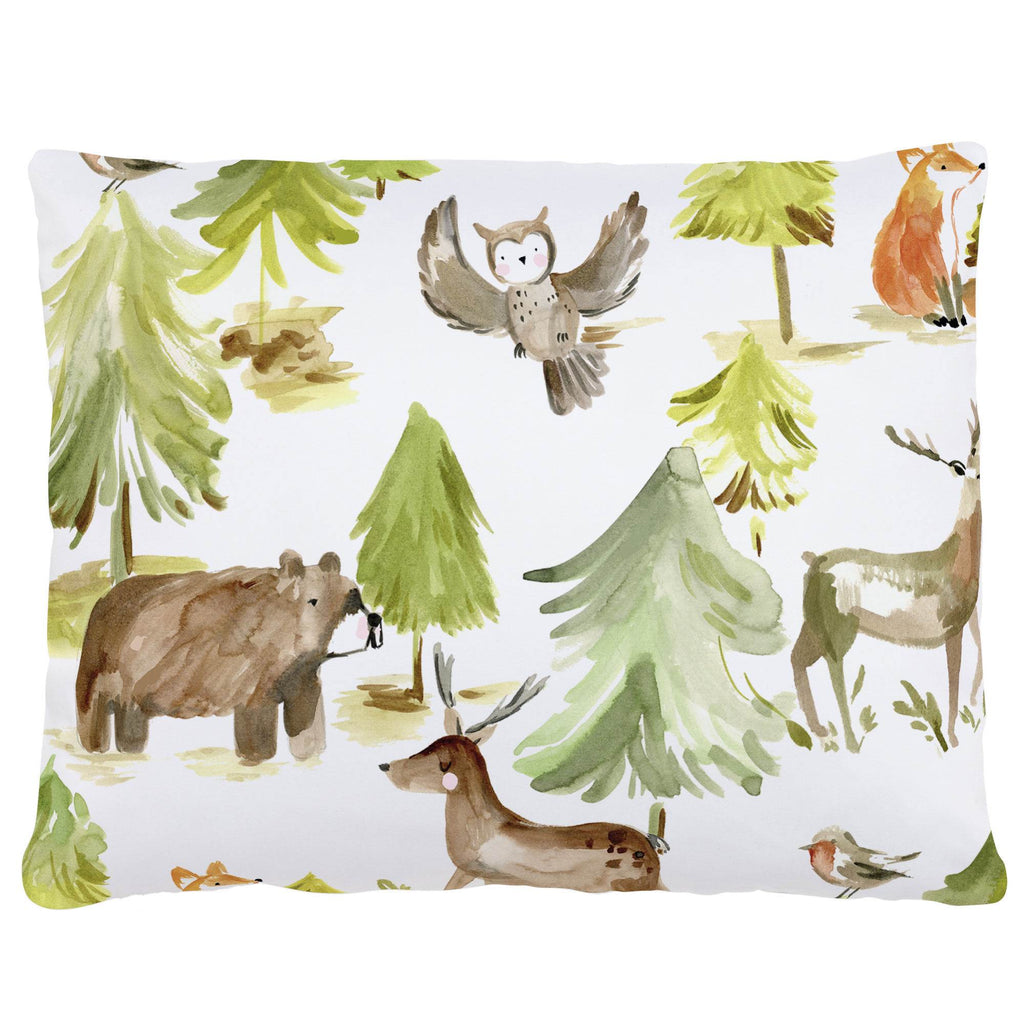 Product image for Painted Forest Accent Pillow