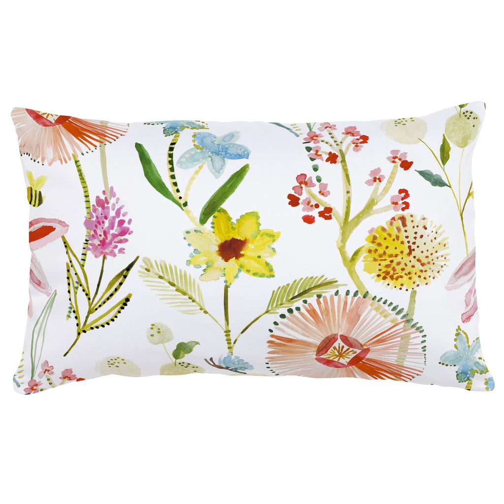 Product image for Watercolor Springtime Lumbar Pillow