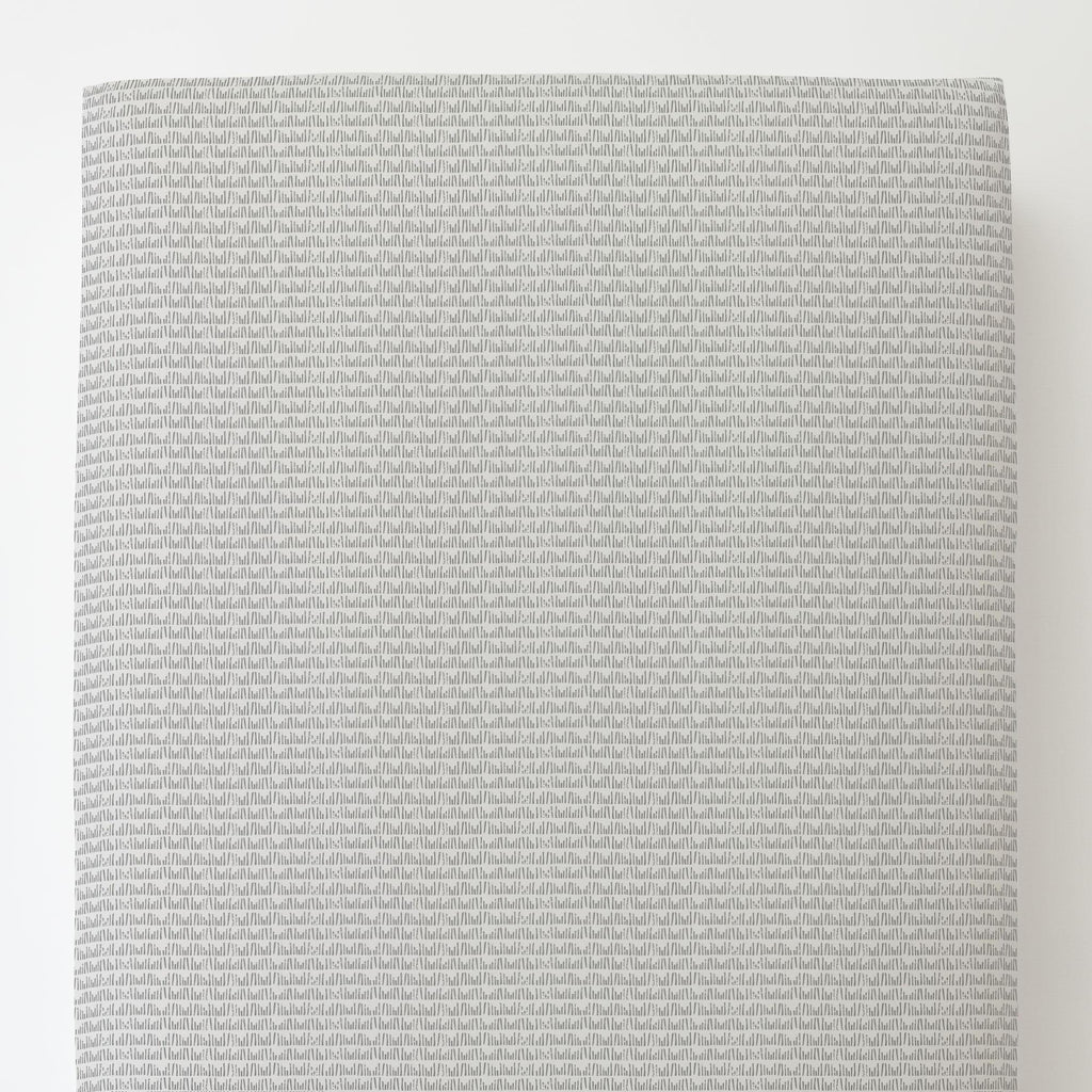 Product image for Gray Woodland Meadow Toddler Sheet Bottom Fitted