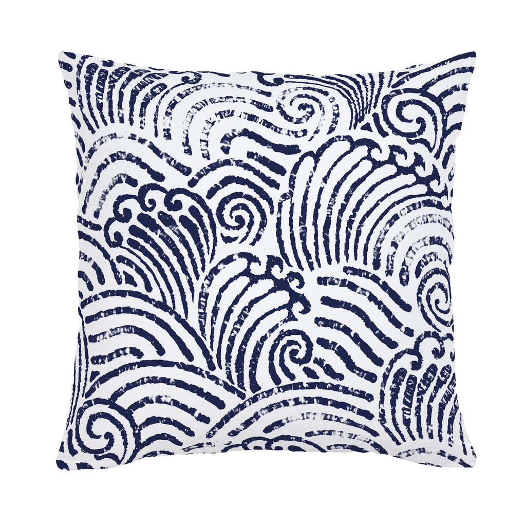 Product image for Navy Seas Throw Pillow
