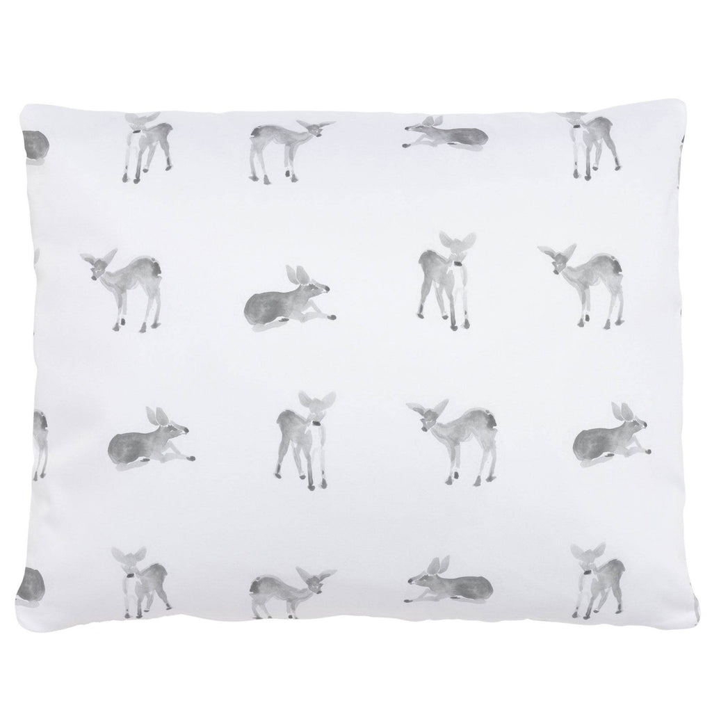 Product image for Silver Gray Fawns Accent Pillow