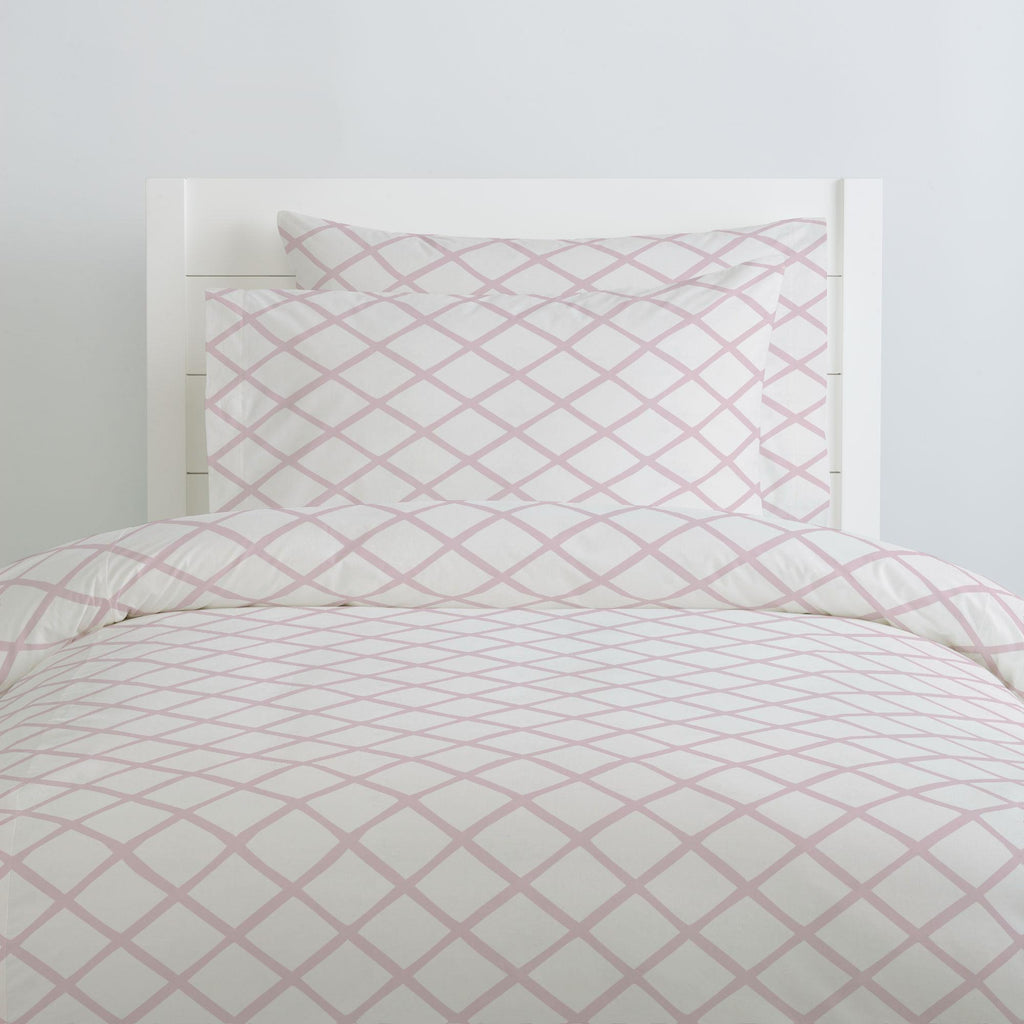 Product image for Pink Trellis Duvet Cover