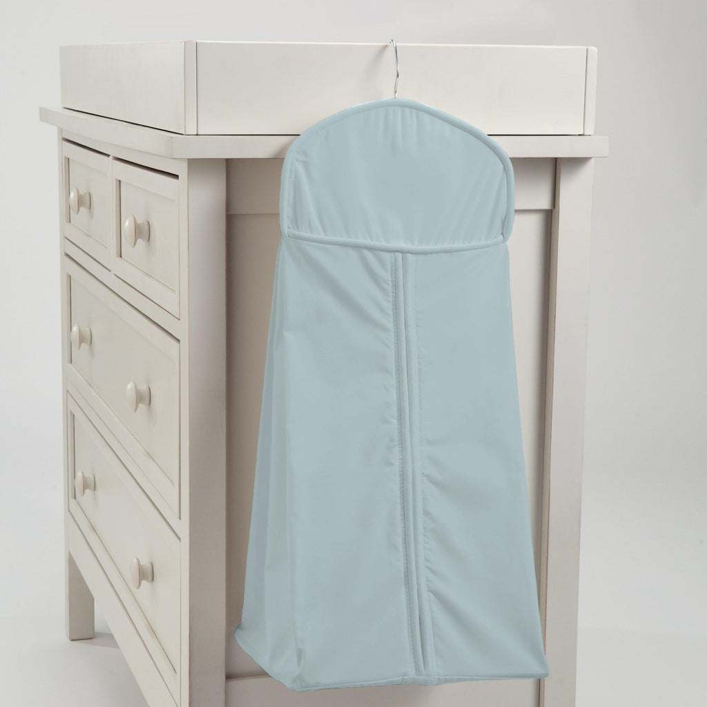 Product image for Solid Robin's Egg Blue Diaper Stacker
