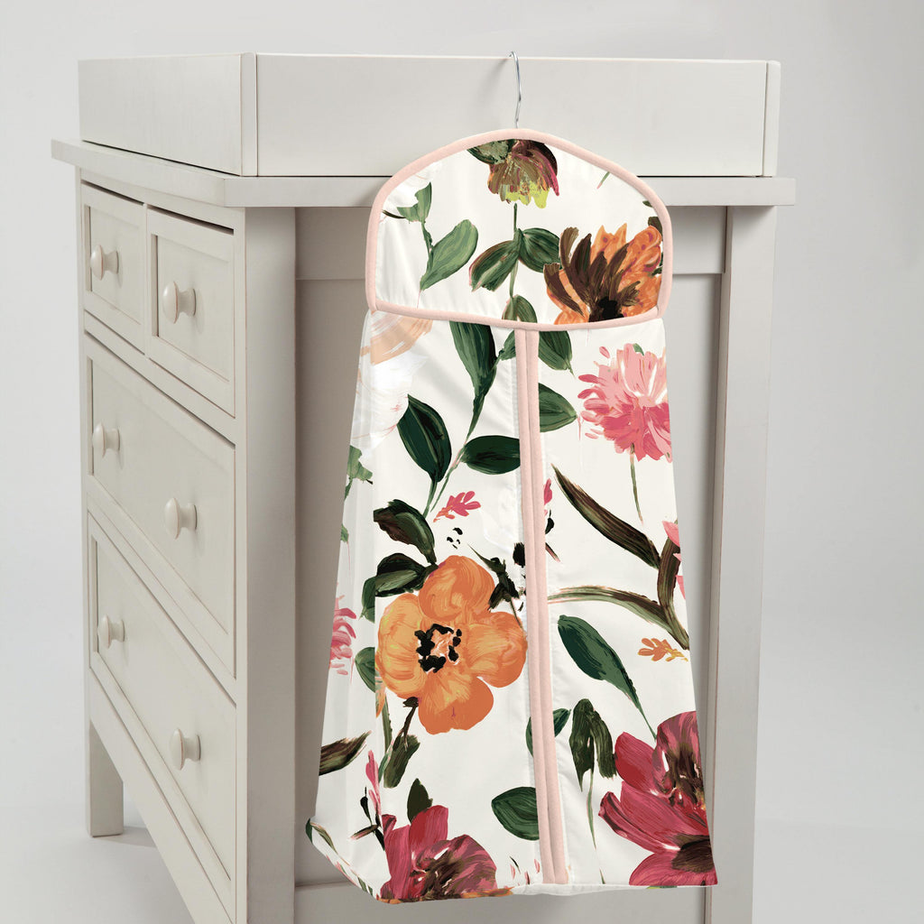 Product image for Moody Floral Diaper Stacker