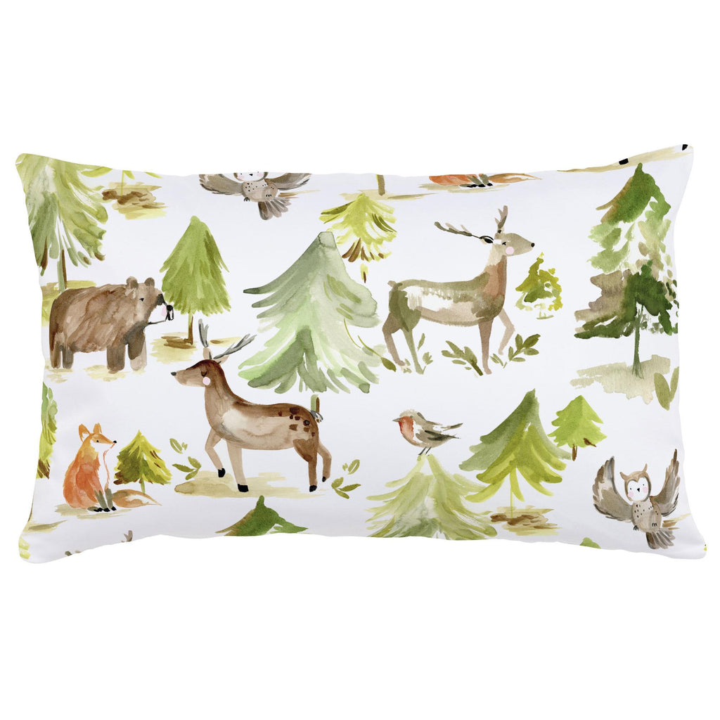 Product image for Painted Forest Lumbar Pillow
