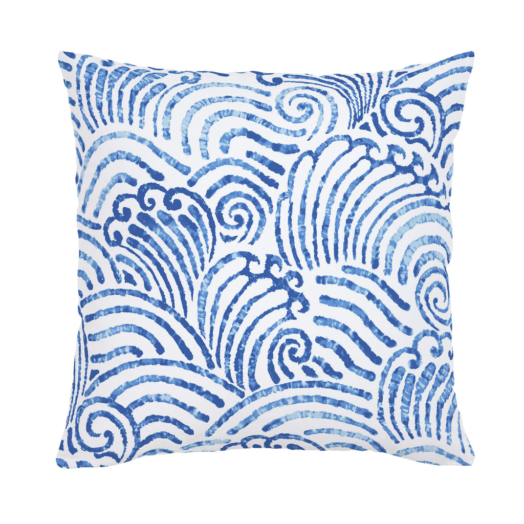 Product image for Blue Seas Throw Pillow