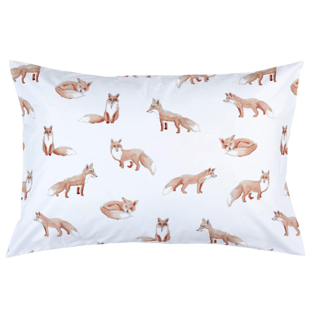 Product image for Watercolor Fox Pillow Case