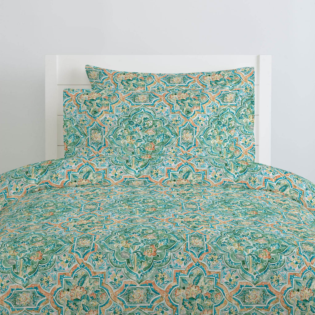 Product image for Watercolor Medallion Duvet Cover