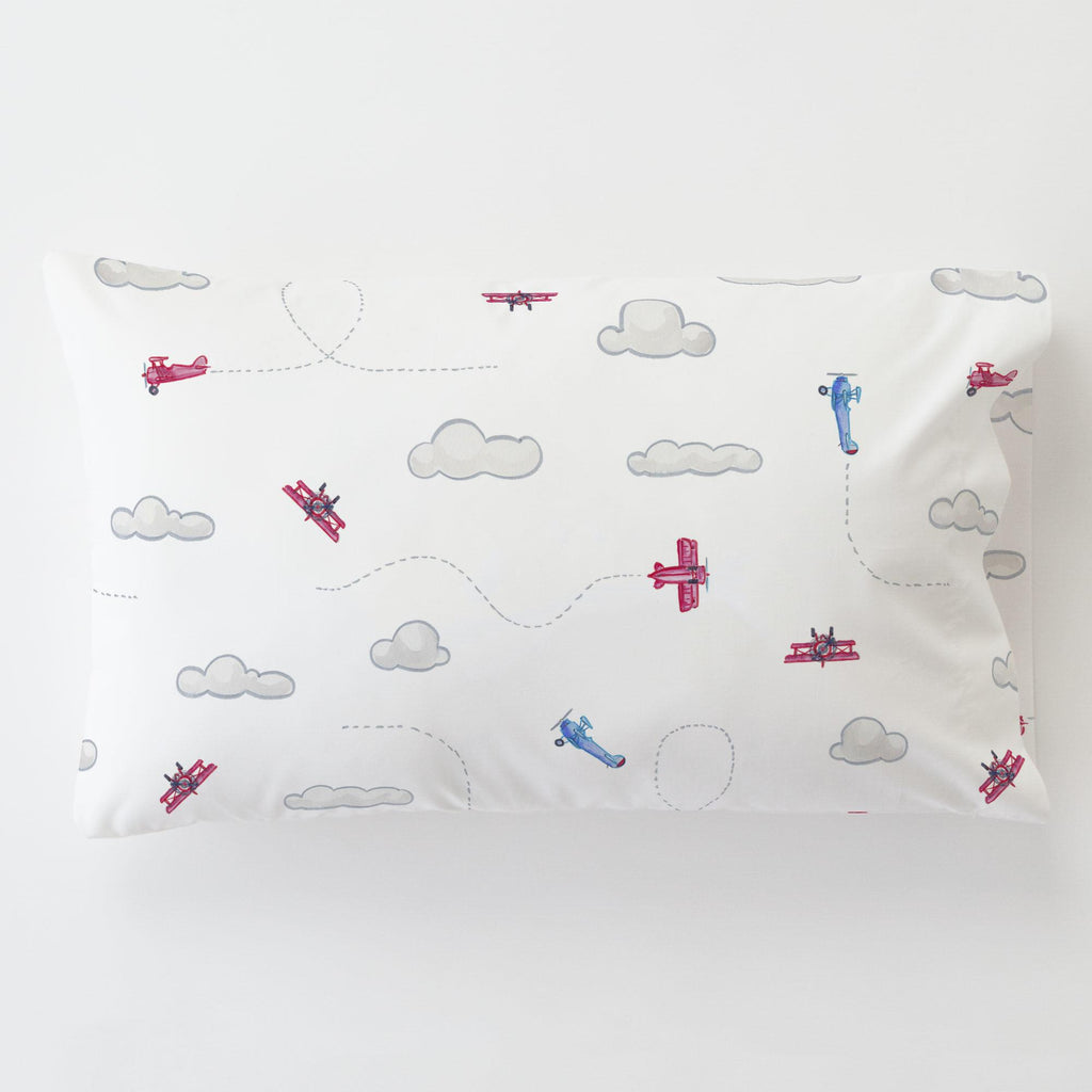 Product image for Take Flight Toddler Pillow Case with Pillow Insert