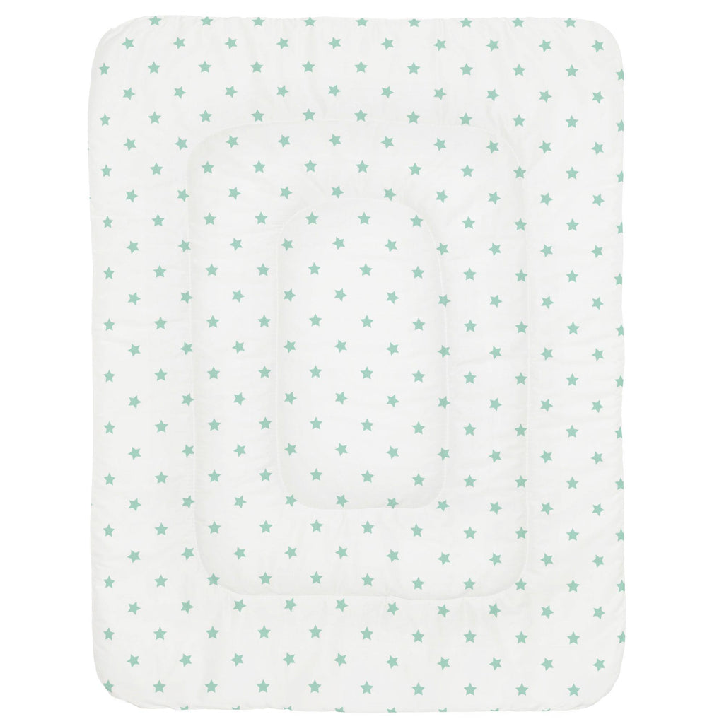 Product image for Mint Stars Crib Comforter