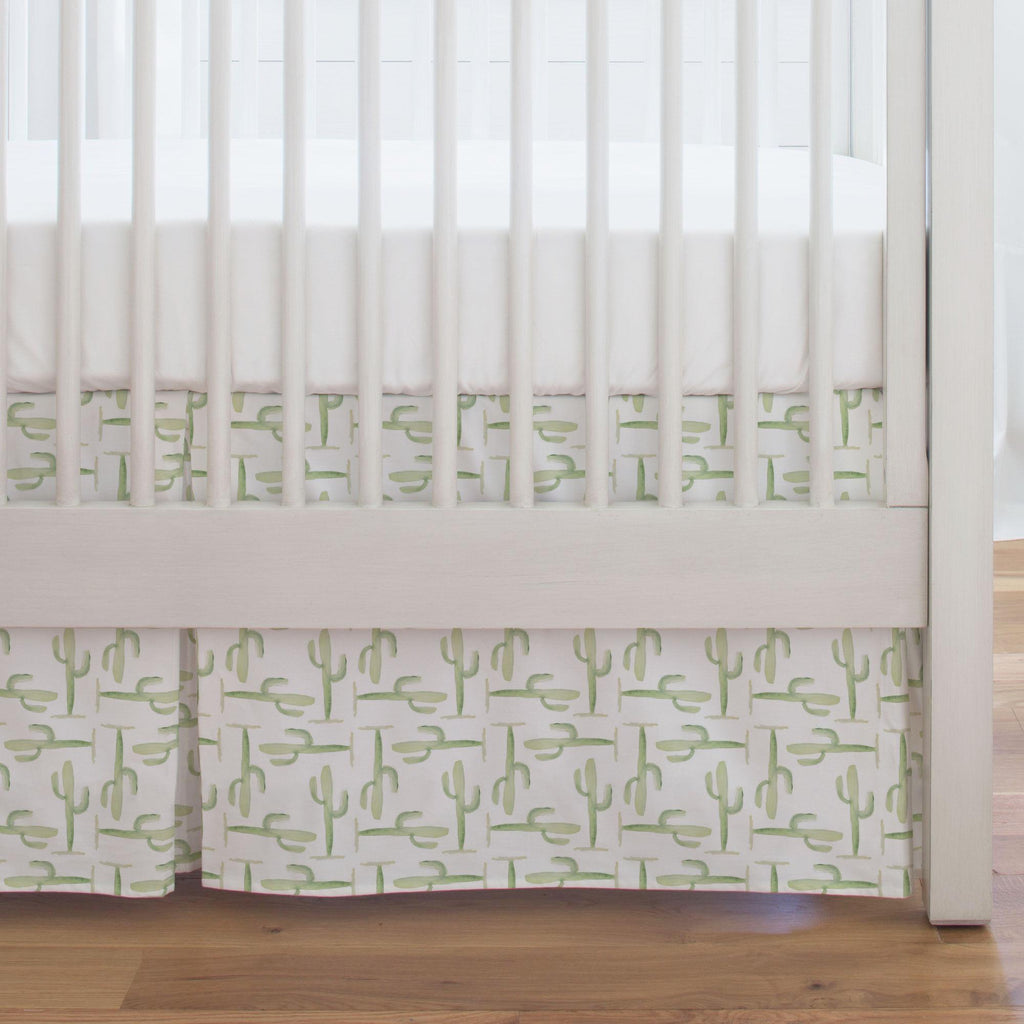 Product image for Arizona Cactus Crib Skirt Single-Pleat