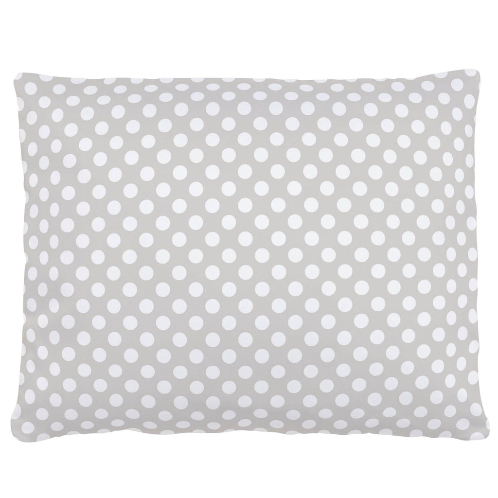 Product image for French Gray and White Dot Accent Pillow