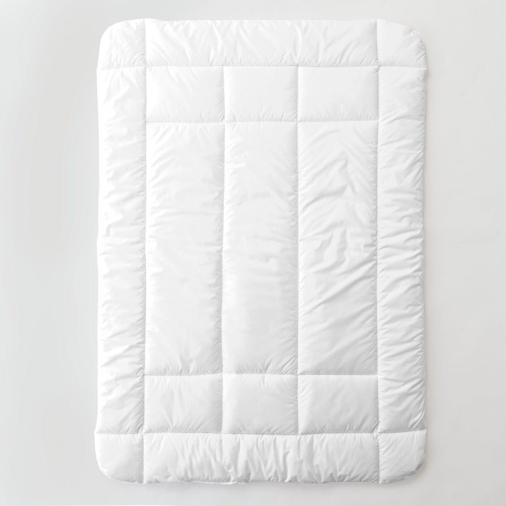 Product image for Solid White Toddler Comforter
