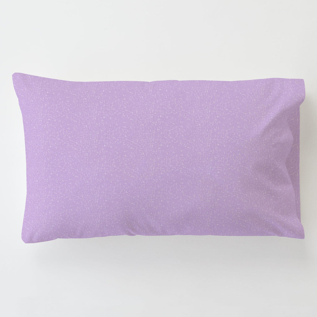 Product image for Pastel Purple Heather Toddler Pillow Case with Pillow Insert