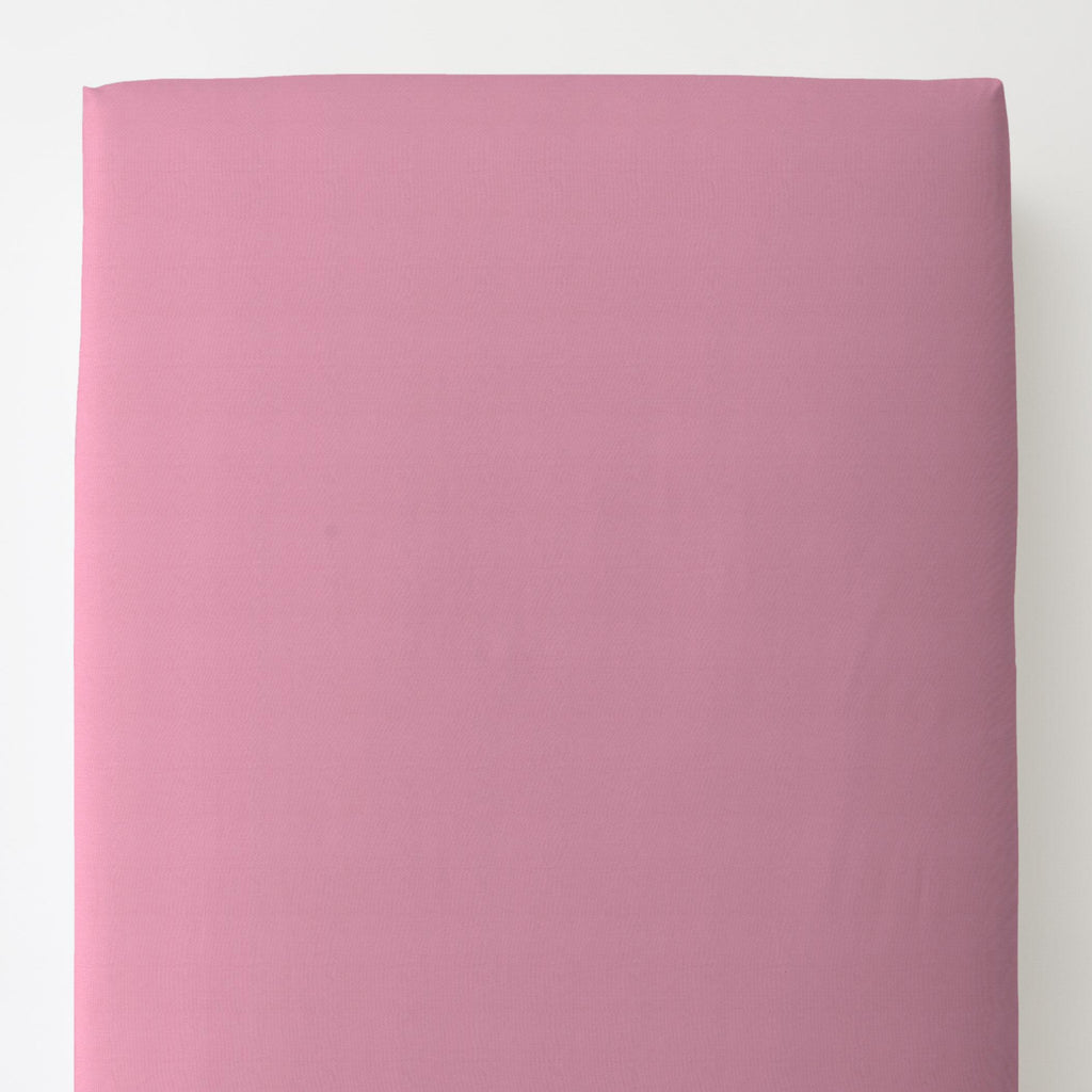 Product image for Solid Hot Pink Toddler Sheet Bottom Fitted