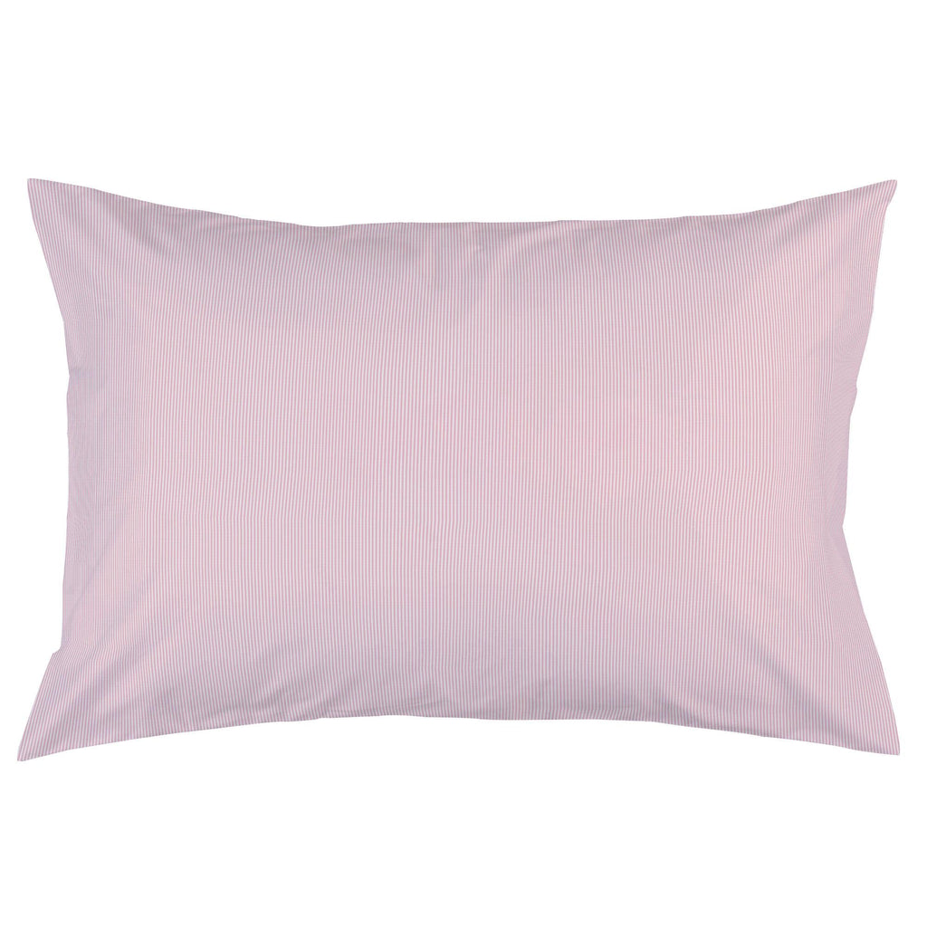Product image for Pink Mini-Stripe Pillow Case