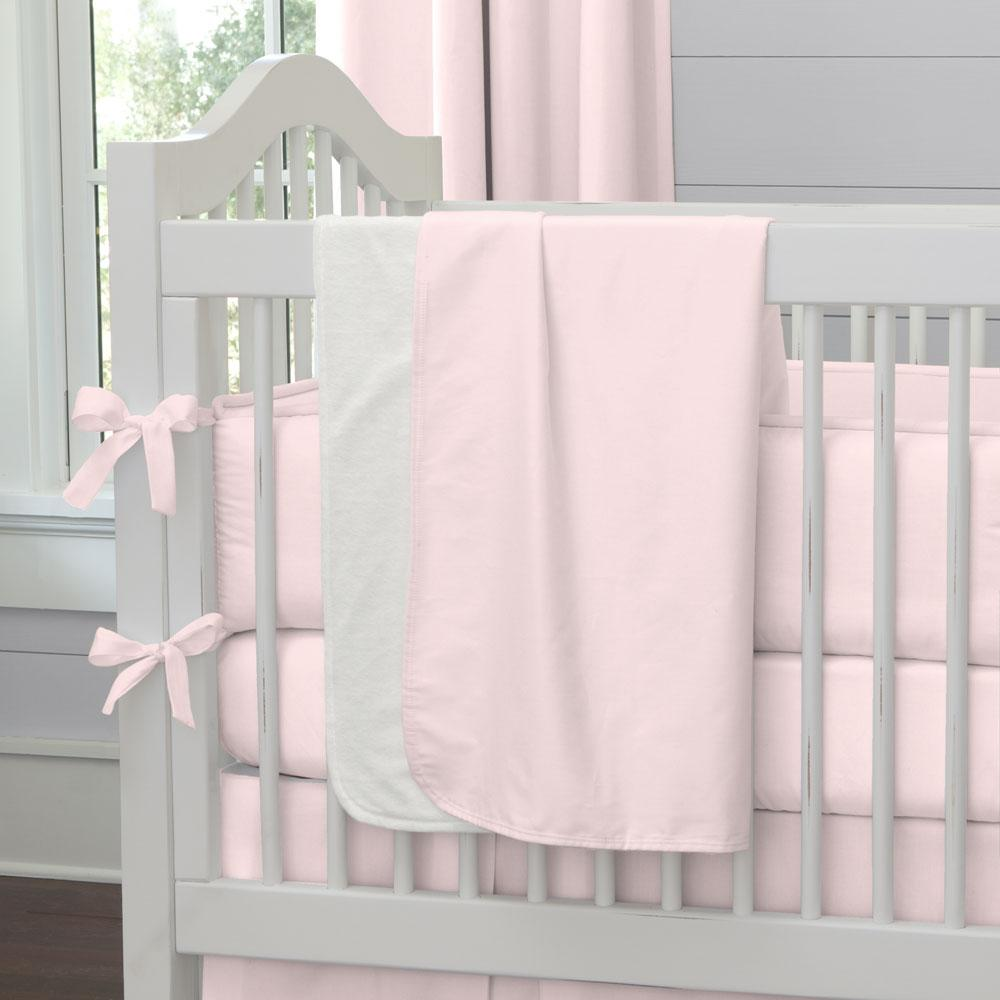Product image for Solid Pink Baby Blanket