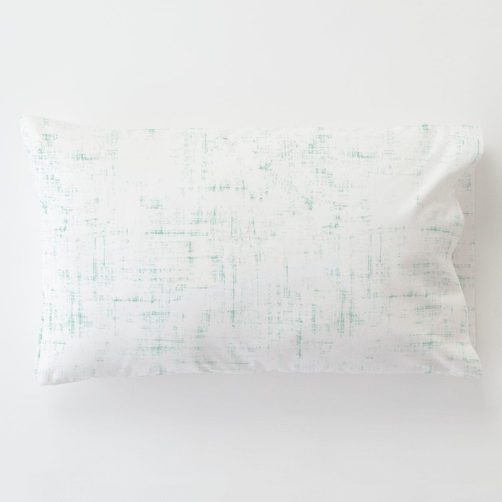 Product image for Mint Distressed Toddler Pillow Case with Pillow Insert