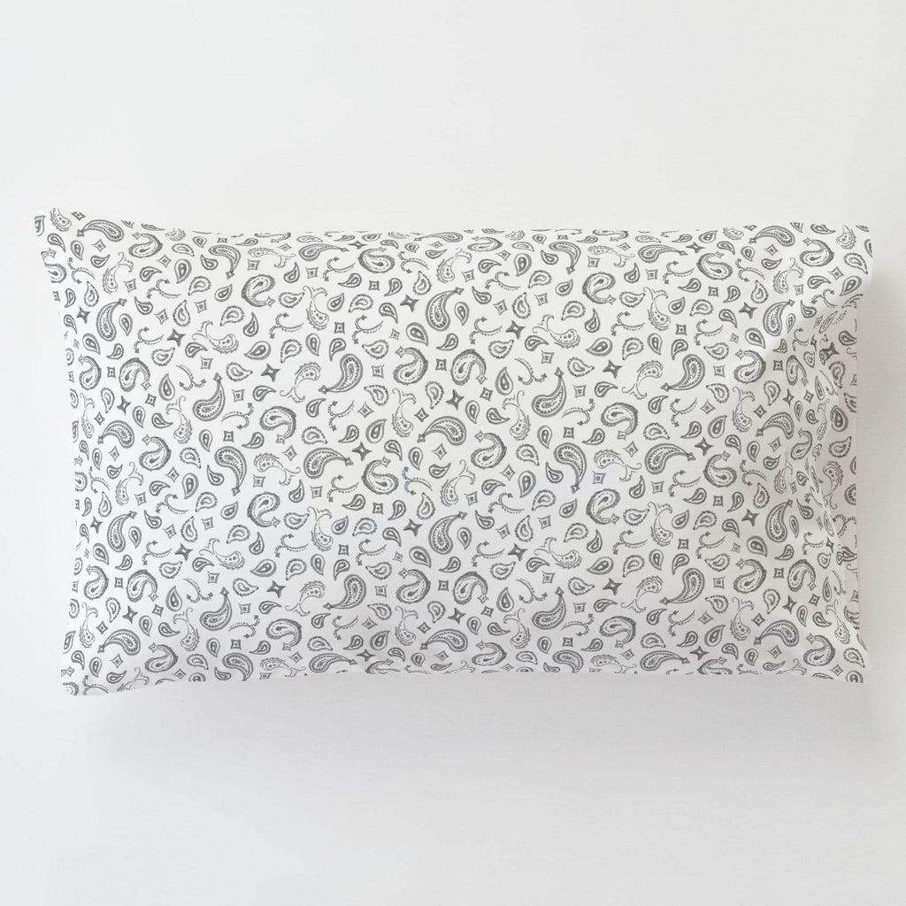 Product image for Bandana Paisley Toddler Pillow Case with Pillow Insert