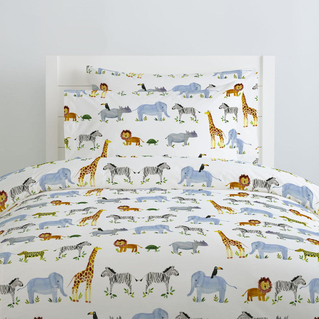Product image for Painted Zoo Duvet Cover