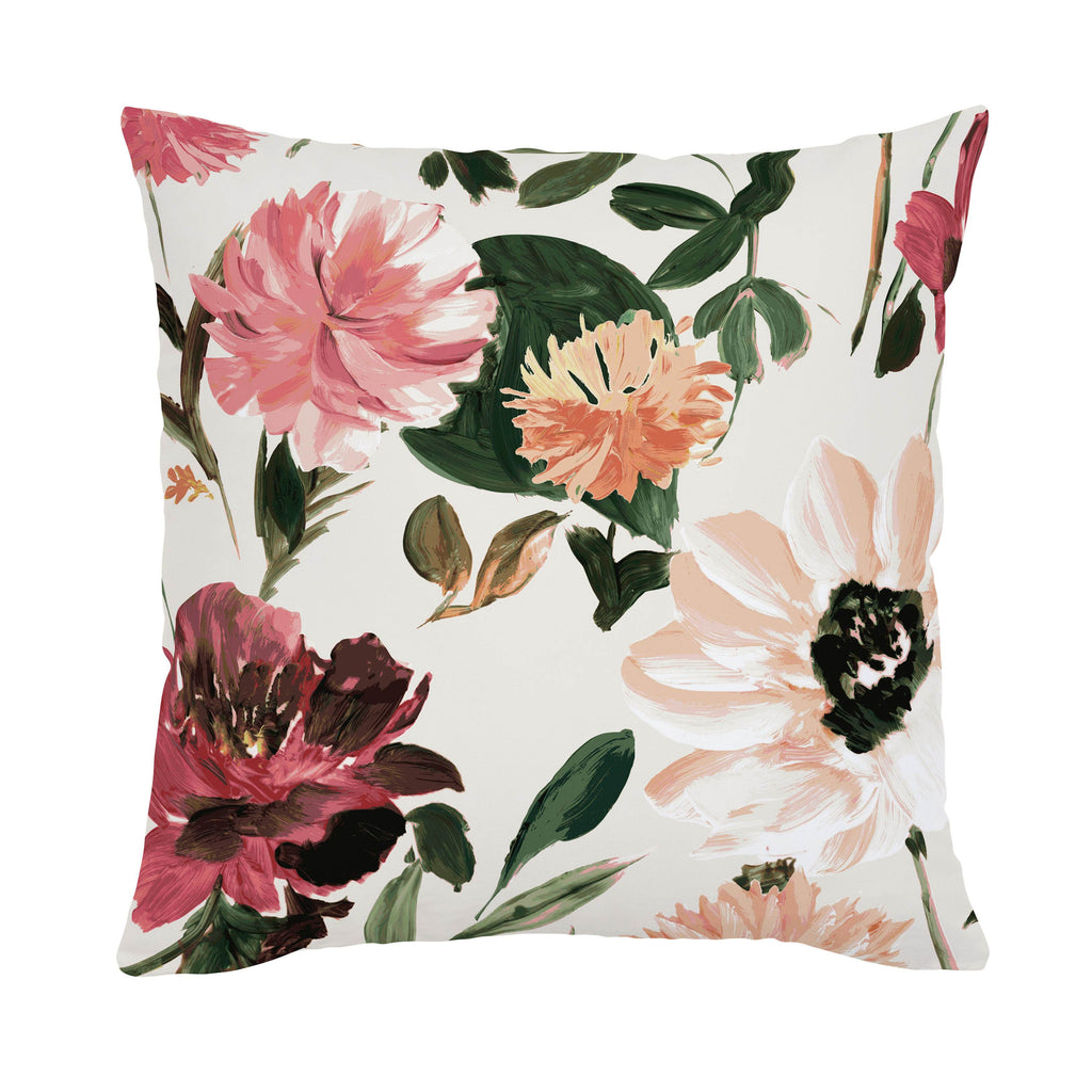 Product image for Moody Floral Throw Pillow