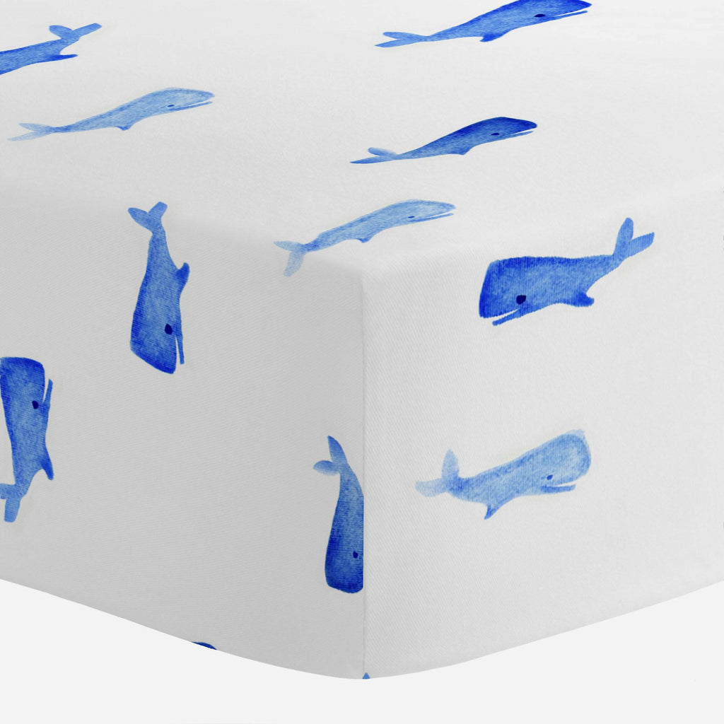 Product image for Whale of a Tale Crib Sheet
