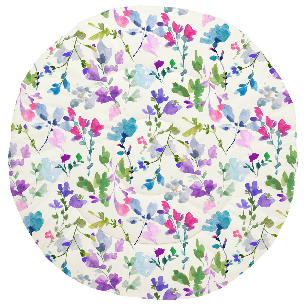 Product image for Bright Wildflower Baby Play Mat