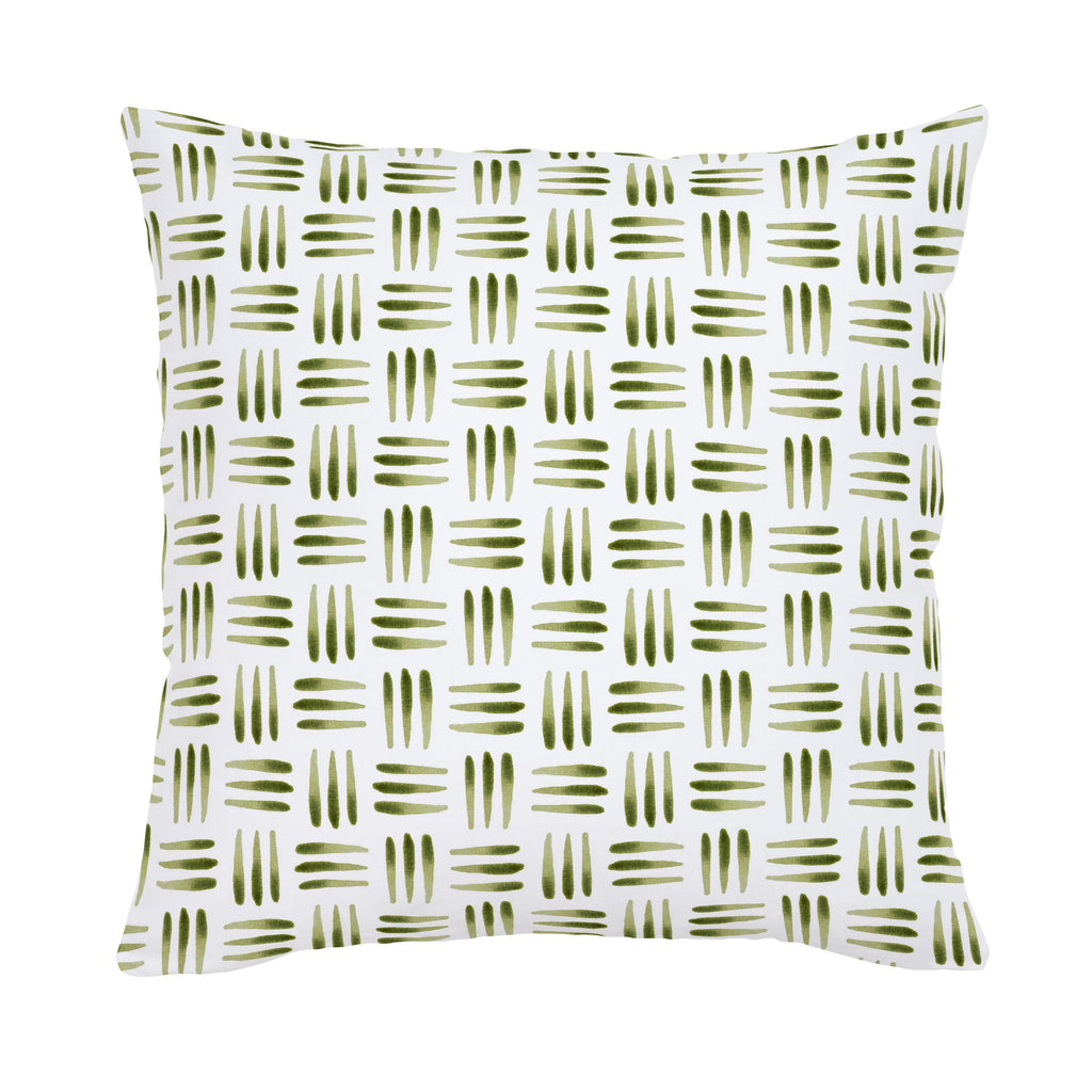 Product image for Sage Basket Throw Pillow